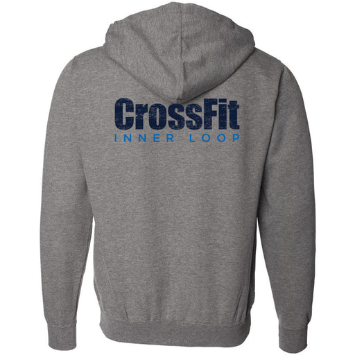 CrossFit Inner Loop - 201 - Round - Independent - Hooded Pullover Sweatshirt