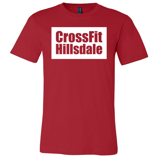 CrossFit Hillsdale - 100 - Standard - Bella + Canvas - Men's Short Sleeve Jersey Tee