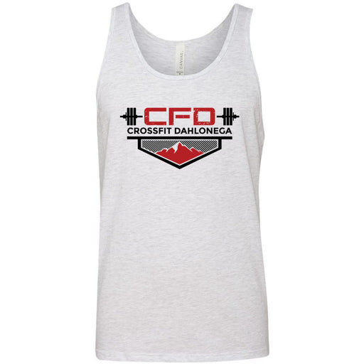 CrossFit Dahlonega - 100 - Standard - Bella + Canvas - Men's Jersey Tank