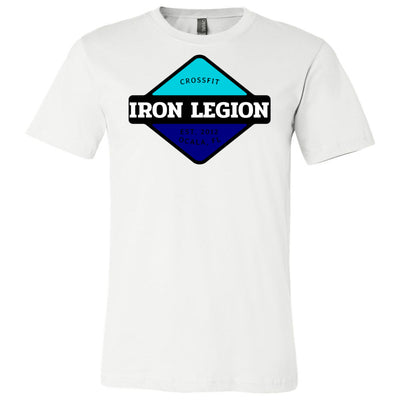 CrossFit Iron Legion - 100 - Insignia 6 - Bella + Canvas - Men's Short Sleeve Jersey Tee