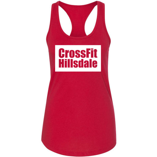 CrossFit Hillsdale - 100 - Standard - Next Level - Women's Ideal Racerback Tank