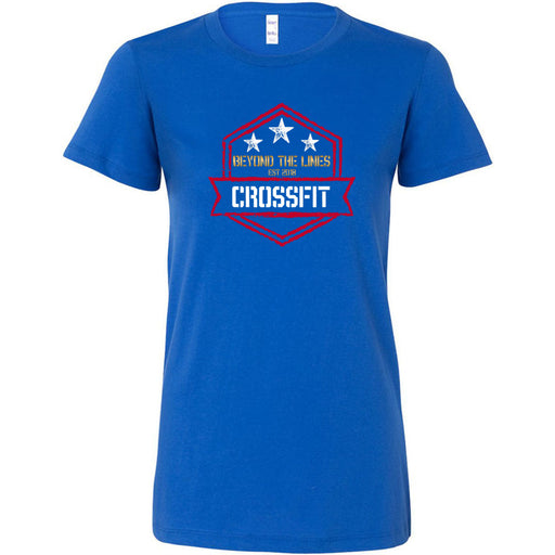 Beyond The Lines CrossFit - Standard - Bella + Canvas - Women's The Favorite Tee