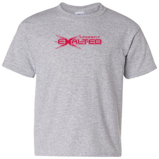 CrossFit Exalted - 100 - Red - Gildan - Heavy Cotton Youth T-Shirt