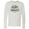 CrossFit BNI - 100 - EST 2009 - Bella + Canvas 3501 - Men's Long Sleeve Jersey Tee