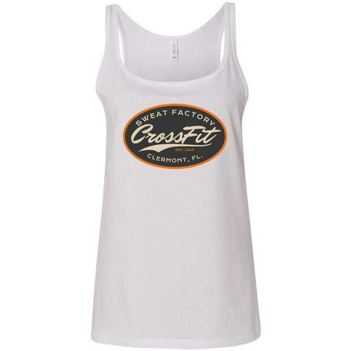 Sweat Factory CrossFit - 100 - DD3 - Bella + Canvas - Women's Relaxed Jersey Tank