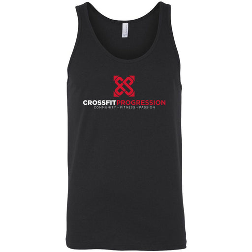 CrossFit Progression - 100 - Standard - Bella + Canvas - Men's Jersey Tank