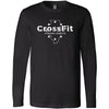 CrossFit Chicago Heights - 100 - Illinois - Bella + Canvas 3501 - Men's Long Sleeve Jersey Tee