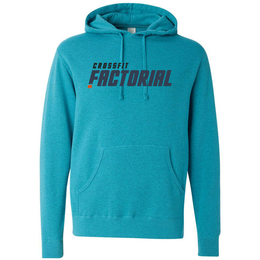 CrossFit Factorial - 100 - Colored - Independent - Hooded Pullover Sweatshirt
