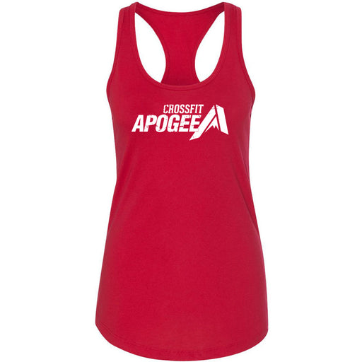 Crossfit Apogee - 100 - White - Next Level - Women's Ideal Racerback Tank
