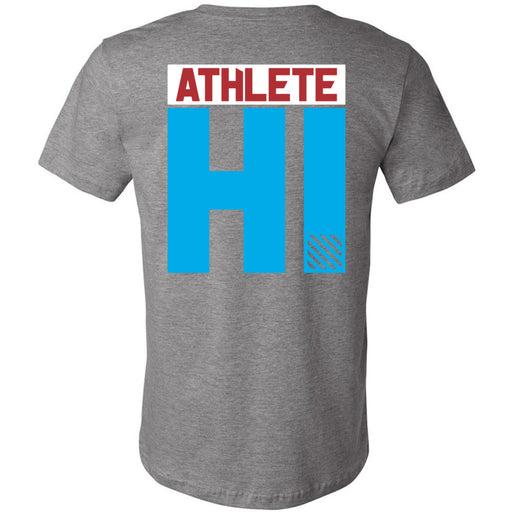 CrossFit Oahu - 200 - HI 3 Colors - Bella + Canvas - Men's Short Sleeve Jersey Tee