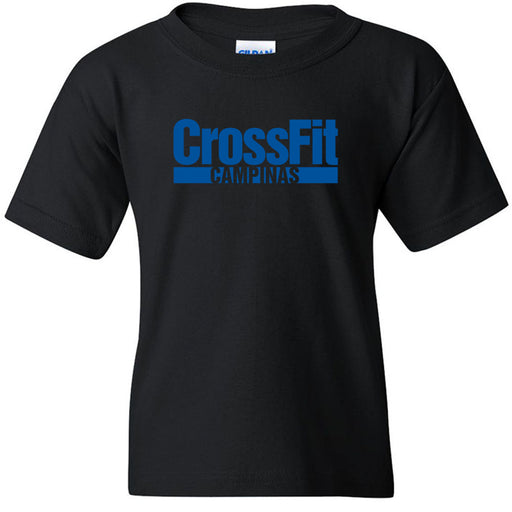 CrossFit Campinas - 100 - Blue - Gildan - Heavy Cotton Youth T-Shirt