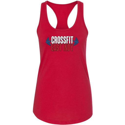 CrossFit East Indy - 100 - Standard - Next Level - Women's Ideal Racerback Tank