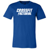 CrossFit Factorial - 100 - One Color - Bella + Canvas - Men's Short Sleeve Jersey Tee