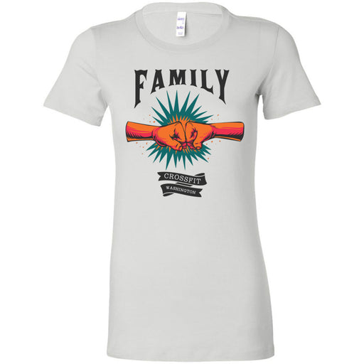 CrossFIt Washington - 100 - Family - Bella + Canvas - Women's The Favorite Tee