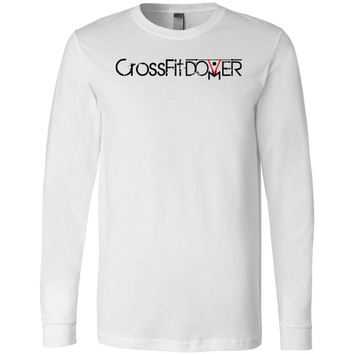 CrossFIt Dover - 100 - Dover - Bella + Canvas 3501 - Men's Long Sleeve Jersey Tee