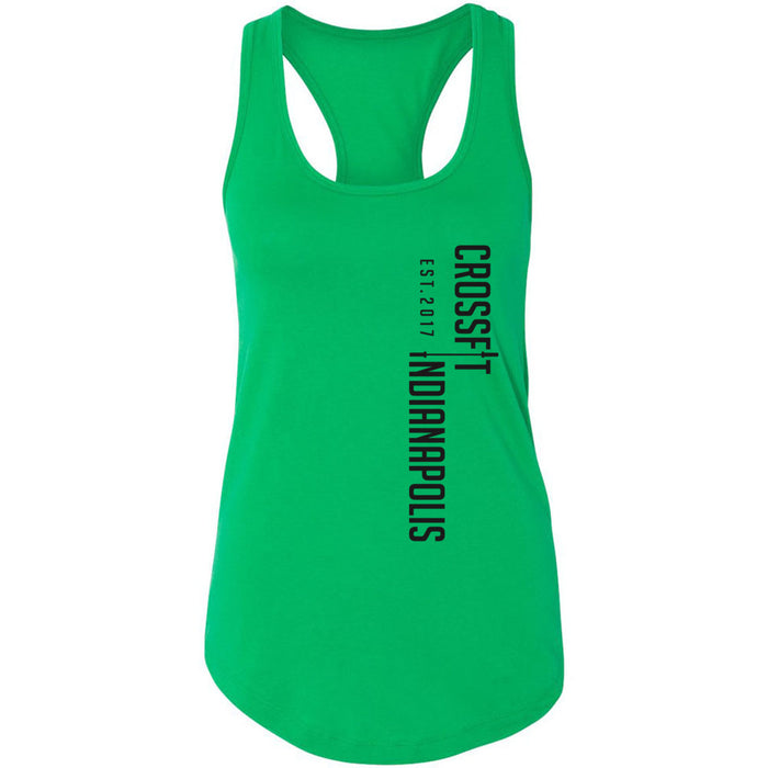 CrossFit Indianapolis - 100 - Vertical - Next Level - Women's Ideal Racerback Tank