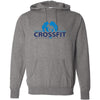 CrossFit Strong Heart - 100 - Standard - Independent - Hooded Pullover Sweatshirt