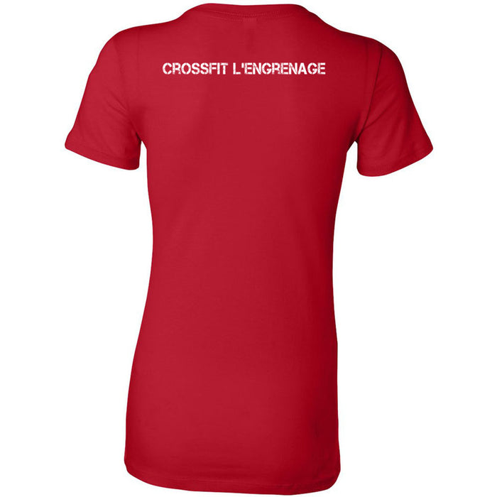 CrossFit L'Engrenage - 200 - Pocket - Bella + Canvas - Women's The Favorite Tee