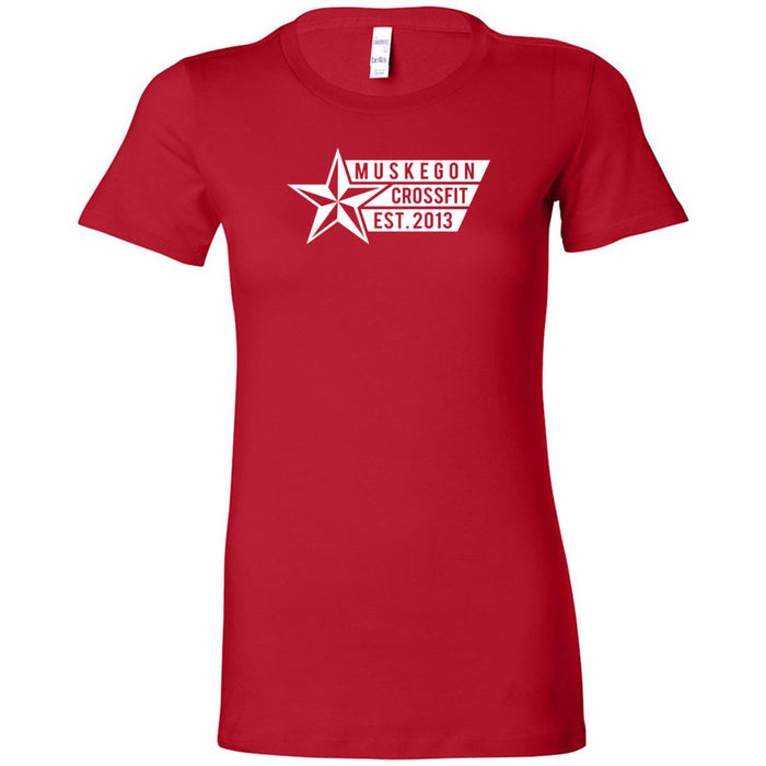 Muskegon CrossFit - 100 - Star - Bella + Canvas - Women's The Favorite Tee