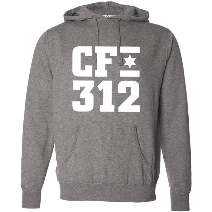 CrossFit 312 - 201 - One Color - Independent - Hooded Pullover Sweatshirt