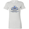CrossFit The Club - 100 - Blue - Bella + Canvas - Women's The Favorite Tee