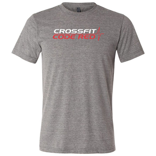 CrossFit Code Red - 100 - Standard - Bella + Canvas - Men's Triblend Short Sleeve Tee
