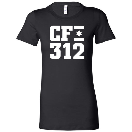 CrossFit 312 - 200 - One Color - Bella + Canvas - Women's The Favorite Tee