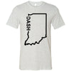 CrossFit Dash - Indiana Dash - Bella + Canvas - Men's Short Sleeve Jersey Tee
