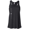 Iron House CrossFit - 100 - Vertical - Bella + Canvas - Women's Flowy Racerback Tank