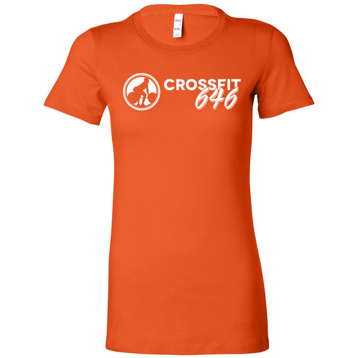 CrossFit 646 - 100 - One Color - Bella + Canvas - Women's The Favorite Tee