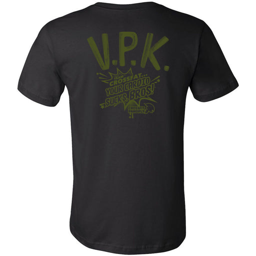 CrossFit Panoply - 200 - VPK Military Green - Bella + Canvas - Men's Short Sleeve Jersey Tee