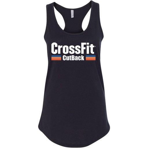 CrossFit CutBack - 100 - Colored - Next Level - Women's Ideal Racerback Tank