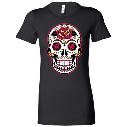 Coast Range CrossFit - 200 - Day of the Dead - Bella + Canvas - Women's The Favorite Tee
