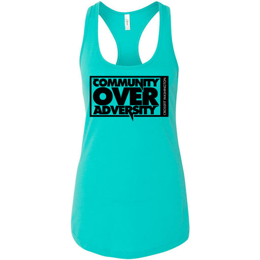 CrossFit Washington - 100 - Community - Next Level - Women's Ideal Racerback Tank