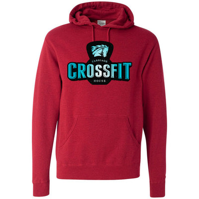 Carriage House CrossFit - 100 - Colored - Independent - Hooded Pullover Sweatshirt