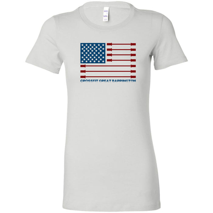 CrossFit Great Barrington - 200 - Patriot - Bella + Canvas - Women's The Favorite Tee