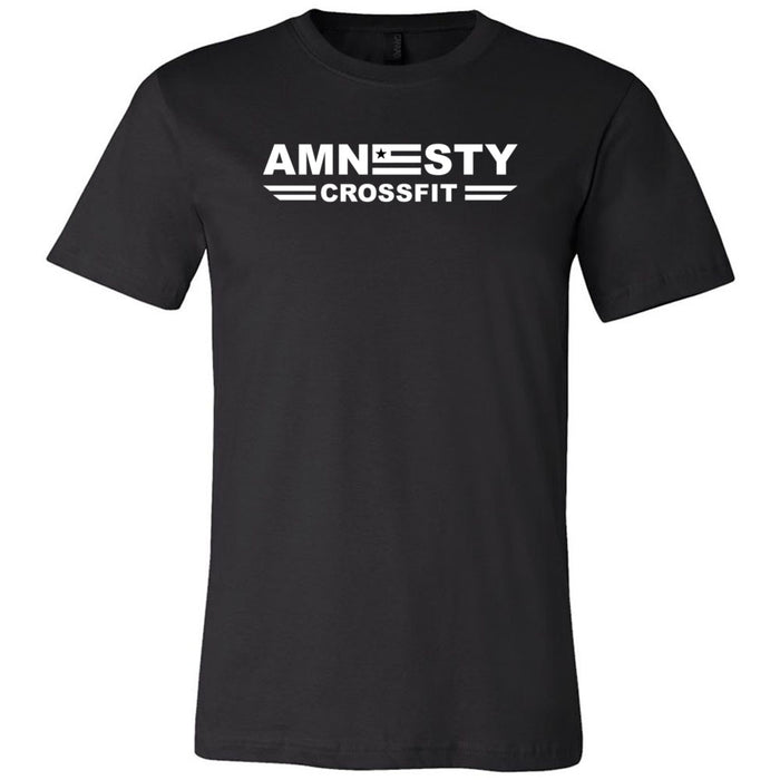 Amnesty CrossFit - One Color - Bella + Canvas - Men's Short Sleeve Jersey Tee