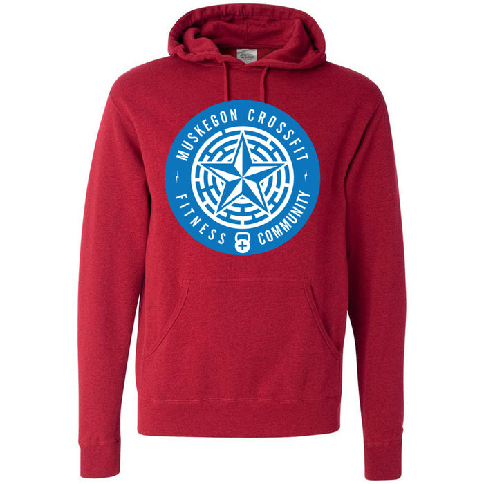 Muskegon CrossFit - 100 - Standard - Independent - Hooded Pullover Sweatshirt