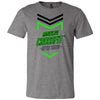 Made2Live CrossFit - 200 - 2020 Open Black Green - Bella + Canvas - Men's Short Sleeve Jersey Tee