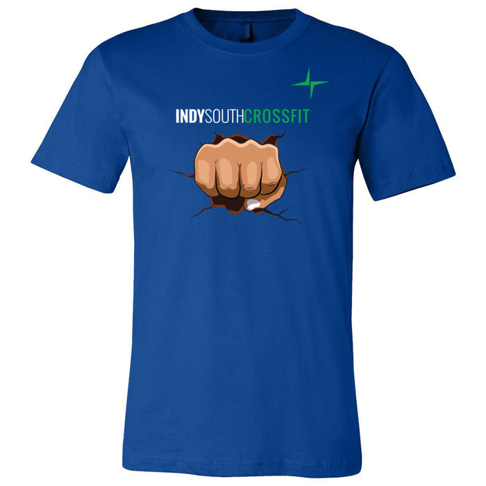 Indy South CrossFit - 100 - Fistbump - Bella + Canvas - Men's Short Sleeve Jersey Tee