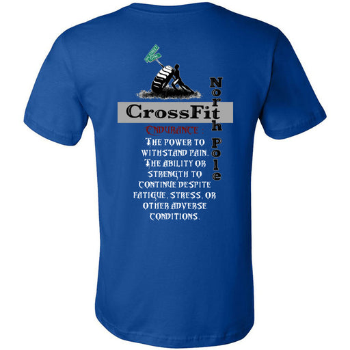 CrossFit North Pole - 200 - Endurance - Bella + Canvas - Men's Short Sleeve Jersey Tee