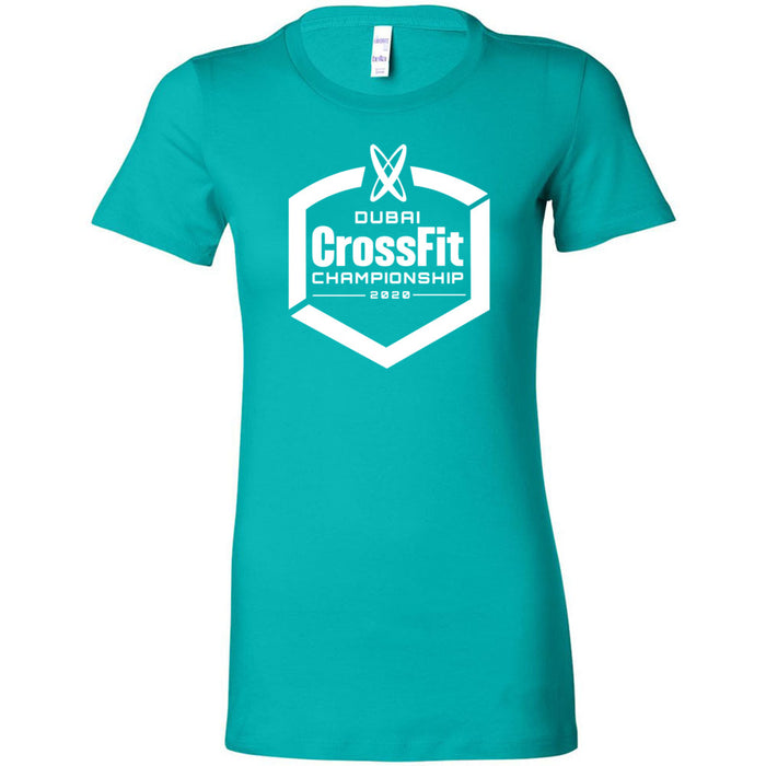 Dubai CrossFit Championship - 100 - White - Bella + Canvas - Women's The Favorite Tee
