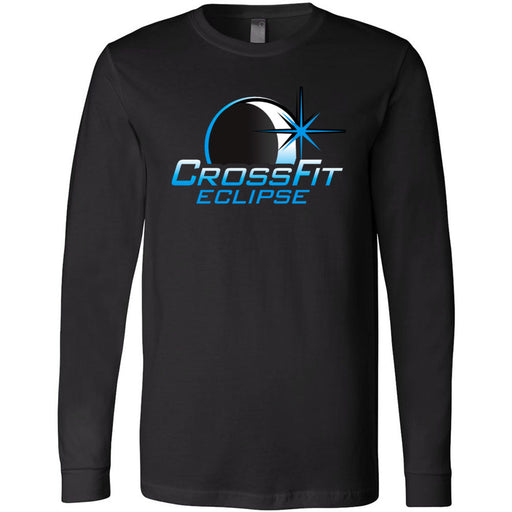 CrossFit Eclipse - 100 - Eclipse - Bella + Canvas 3501 - Men's Long Sleeve Jersey Tee