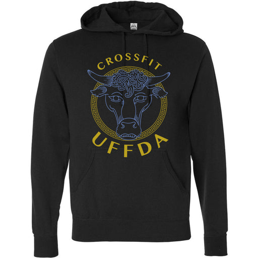 CrossFit UFFDA - 100 - Babe - Independent - Hooded Pullover Sweatshirt
