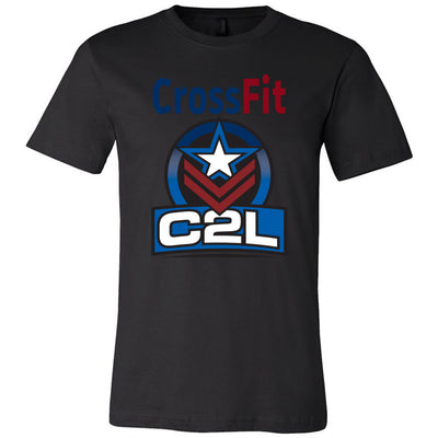 CrossFit C2L - Standard - Bella + Canvas - Men's Short Sleeve Jersey Tee