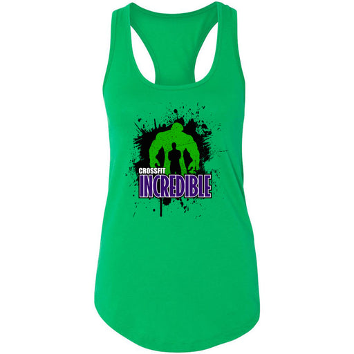 CrossFit Incredible - 100 - Standard - Next Level - Women's Ideal Racerback Tank