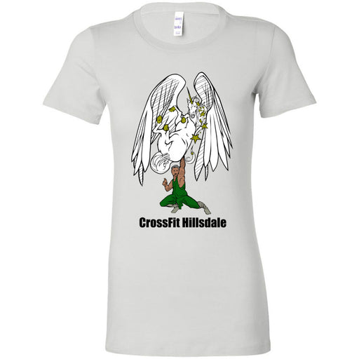 CrossFit Hillsdale - 100 - Pegicorn - Bella + Canvas - Women's The Favorite Tee