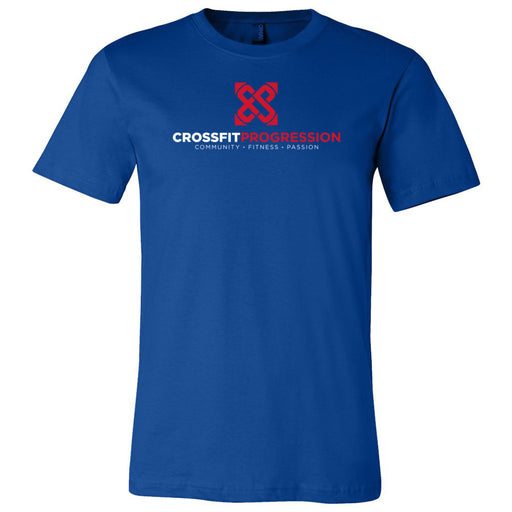 CrossFit Progression - 100 - Standard - Bella + Canvas - Men's Short Sleeve Jersey Tee