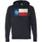 Mission CrossFit San Antonio - 100 - Flag - Independent - Hooded Pullover Sweatshirt