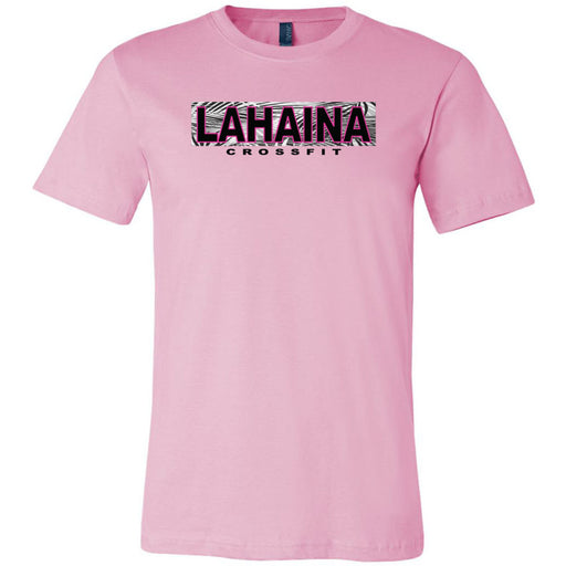 Lahaina CrossFit - 100 - Hawaii Pink - Bella + Canvas - Men's Short Sleeve Jersey Tee